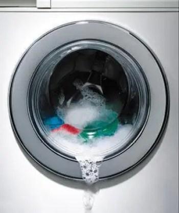 Front load washing machine dripping