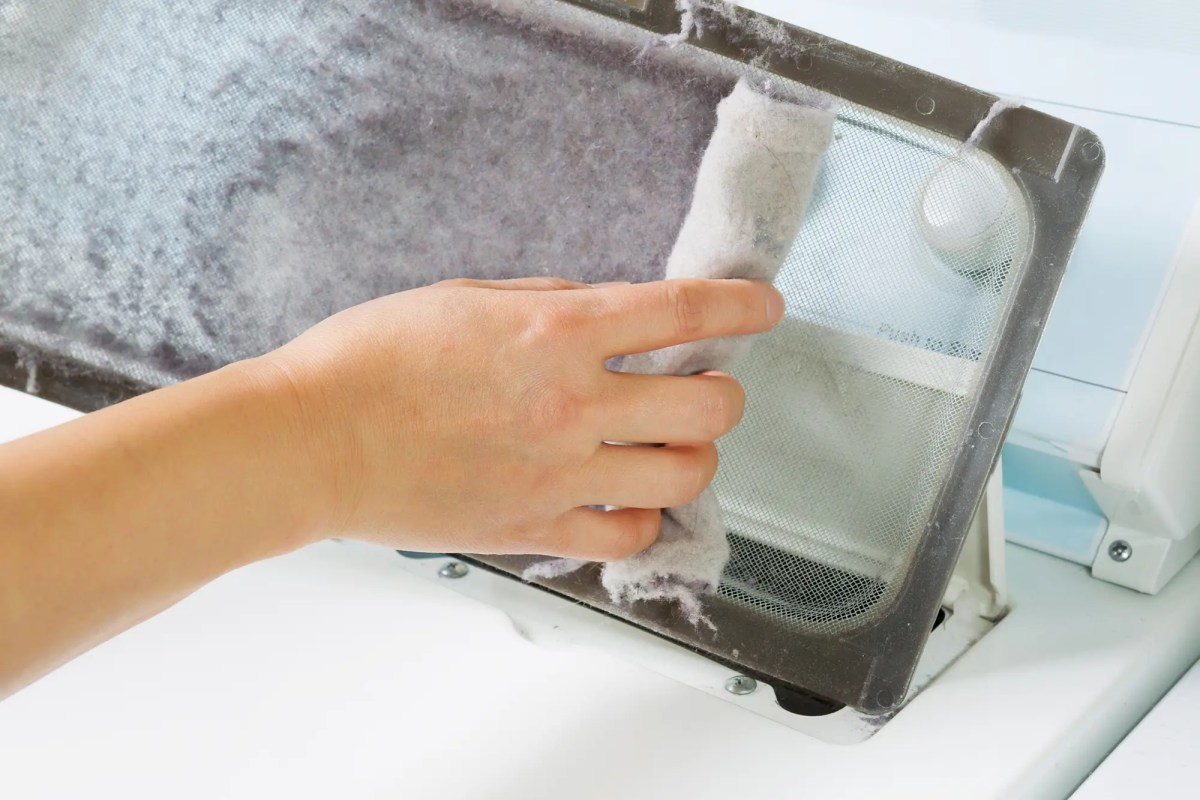 Cleaning Dryer Screens