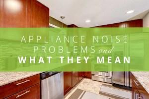 Appliance Noise Problems