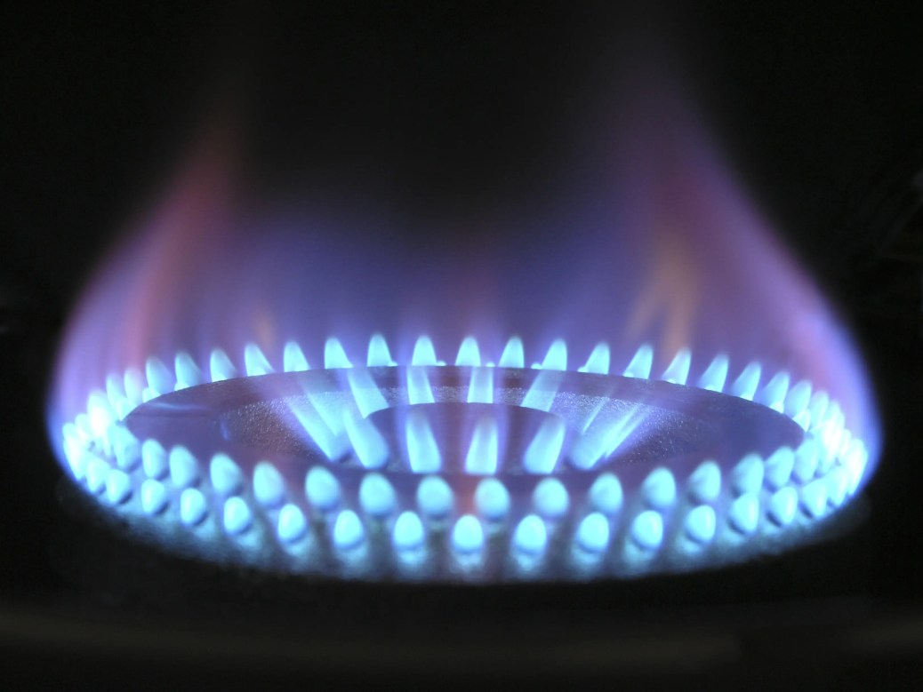 clicking gas stove