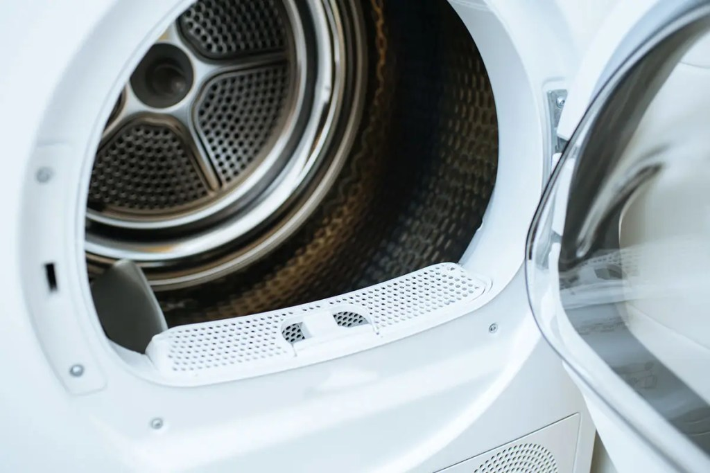 Empty Open Dryer