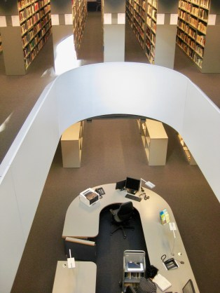 Circulation desk, Philological Library, Freie Universität Berlin