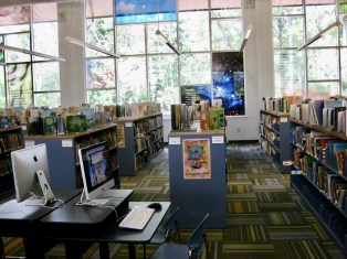 Hamilton Mill Branch, Gwinnett Public Library, Ga. Internal view