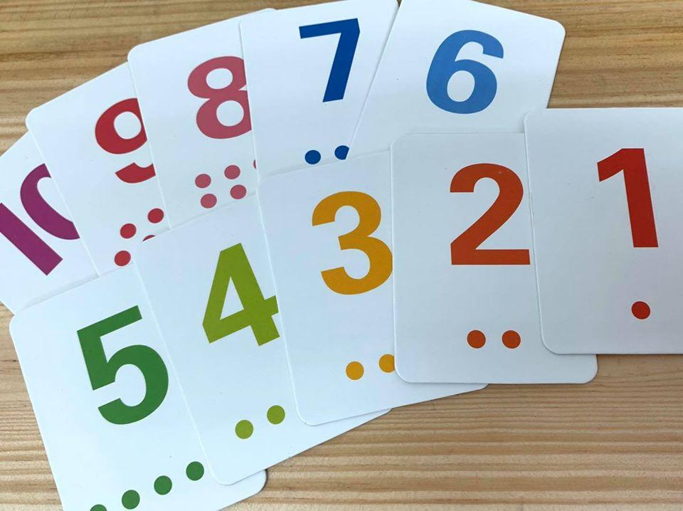 English/Maths Learning Card 幼兒英語x數字學習卡 – I.F. Learning