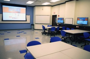 Collaborative class at Huff Hall room 209