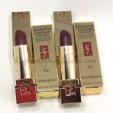 YSL Rouge Pur Couture The Mats 206 Grenat Satisfaction and 205 Prune Virgin.