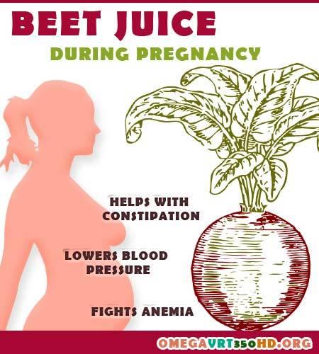 beetroot juice during pregnancy