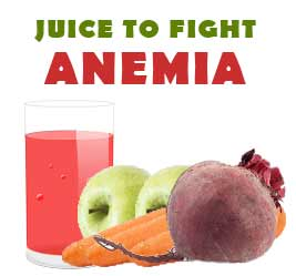 juice against anemia