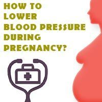 lower blood pressure during pregnancy