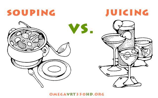souping vs juicing