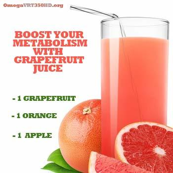 natural metabolism booster grapefruit juice recipe