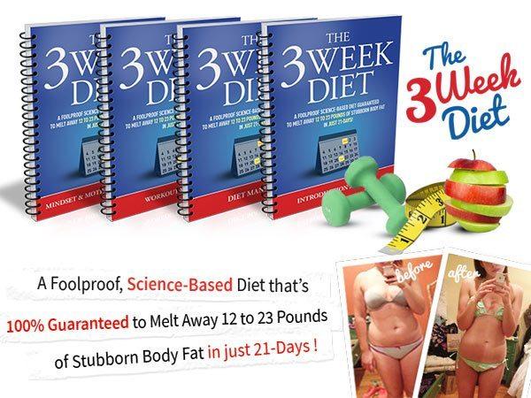 The 3 Week Diet by Brian Flatt: Our In-Depth Investigation