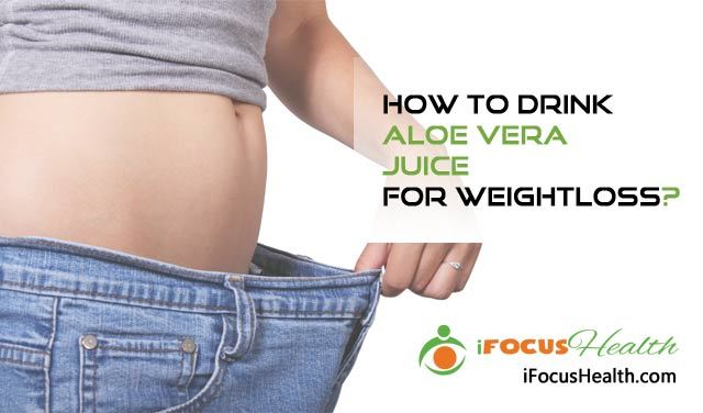 aloe vera juice for weight loss
