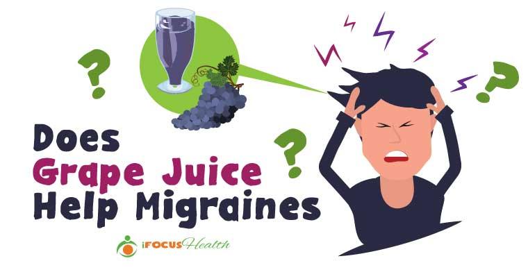 grape juice for migraines
