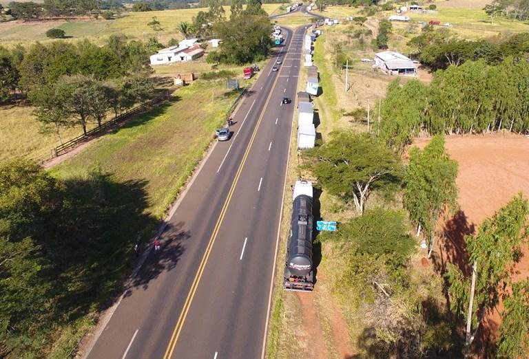 FOTO: Drone/Folha Regional