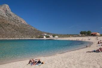 Stavros beach even made it into a movie! Image Source nightlife-cityguide.com