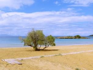 Our local beach in Kalathas