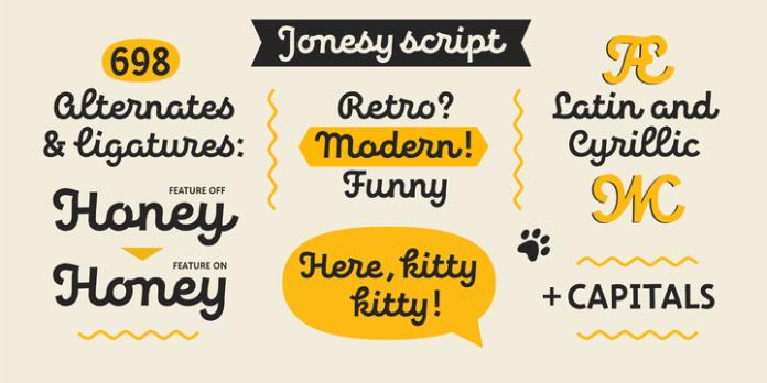 Jonesy Font Family