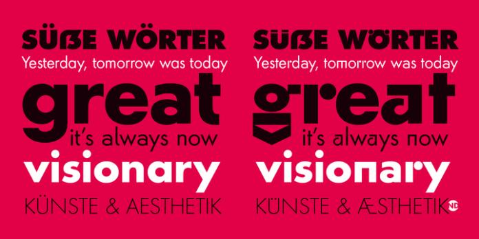 Futura ND Alternate Font Family