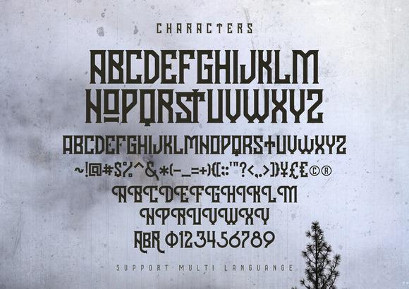 Hodor Display Font