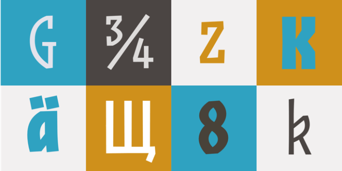 JAF Zalamander Font Family