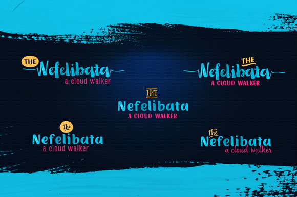 Nefelibata Font Collection