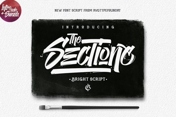 The Sectione Bright Font