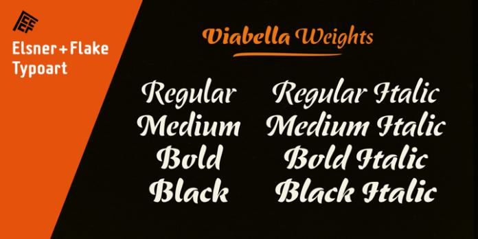 ViabellaT H Pro Font Family