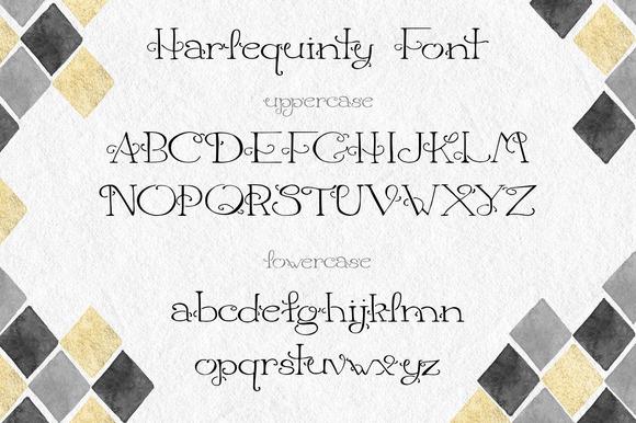 Harlequinty - Font