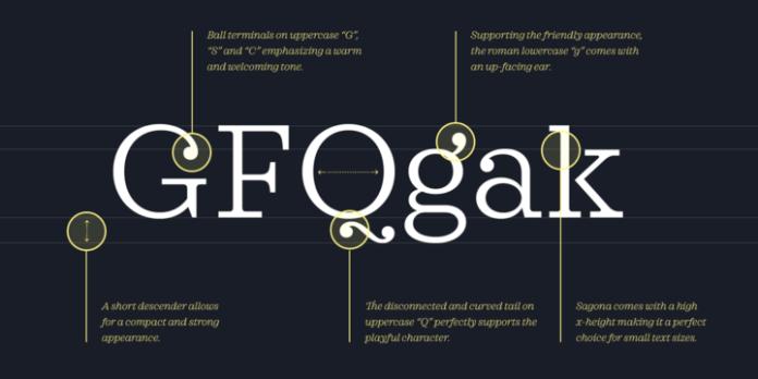 Sagona Font Family