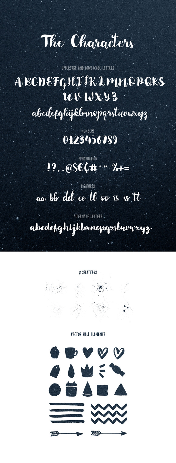 Brownie Brush Fonts