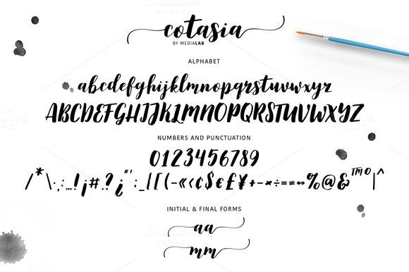 Cotasia Script Font
