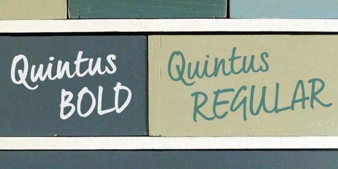 Quintus Font Family