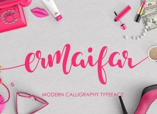 Ermaifar Script Font