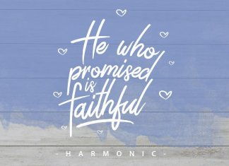 Harmonic Script Font