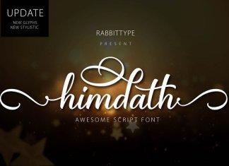 Himdath Script Font