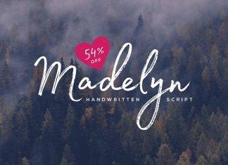 Madelyn Script Font