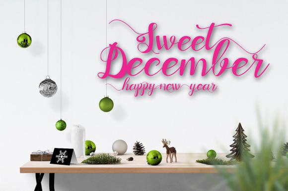 Sweet December FONT Bundle