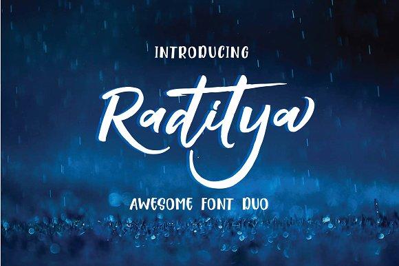 Raditya Font Duo