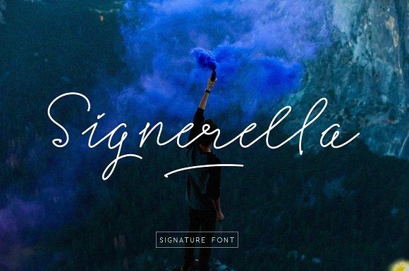 Signerella Font Duo