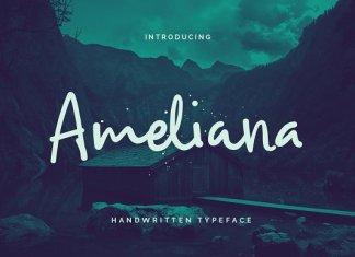 Ameliana Script Font