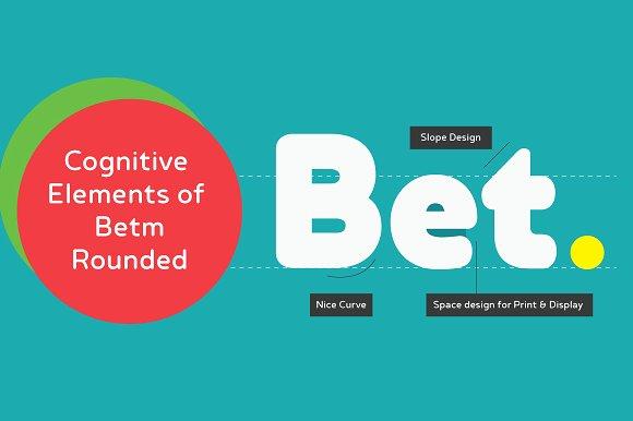 Betm Rounded Sans Serif