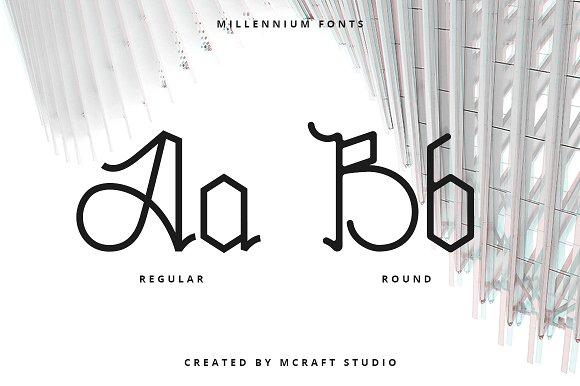 Millennium Typeface
