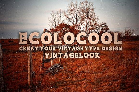 Ecolo Family Font