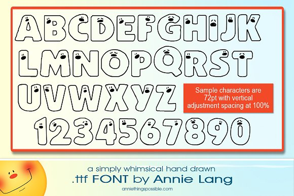 Annie's Peepers Font