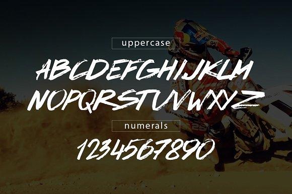 Drive Script font