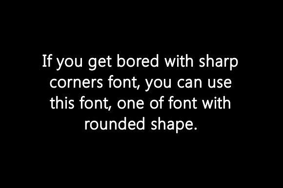 Solar  Sans Serif Font