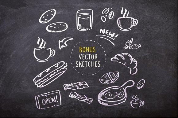 coffee and tea (+bonus sketches)