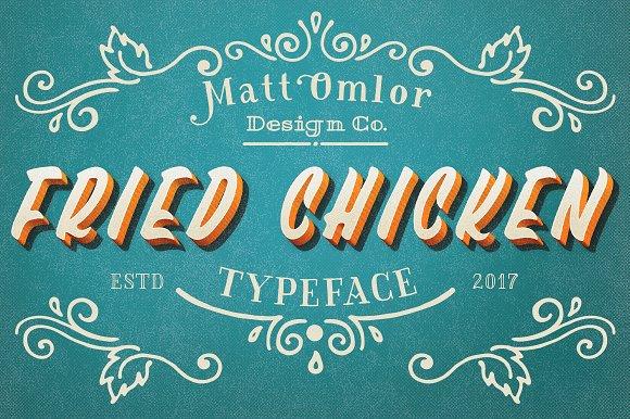 Fried Chicken Typeface
