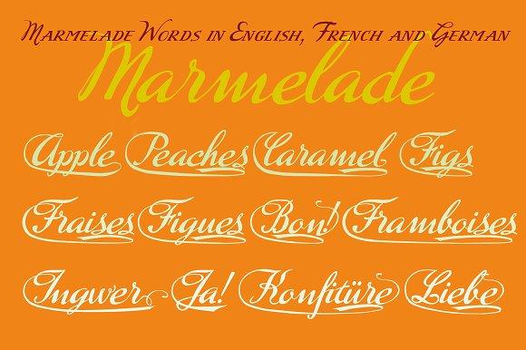 Marmelade Scripts Font